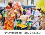 blurred background of samba... | Shutterstock . vector #357973160
