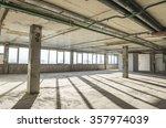 interior of business center... | Shutterstock . vector #357974039