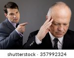 harassment in the workplace | Shutterstock . vector #357992324
