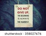 inspiration motivational life...   Shutterstock . vector #358027676