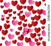 valentine's day abstract... | Shutterstock .eps vector #358046204