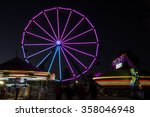 ferris wheel and assorted... | Shutterstock . vector #358046948