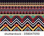 geometric ethnic pattern... | Shutterstock .eps vector #358047050