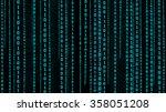 matrix background   Shutterstock . vector #358051208