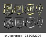 metal logo | Shutterstock .eps vector #358052309