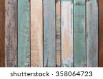 old color wood texture and... | Shutterstock . vector #358064723