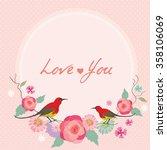 vector for lover invitation... | Shutterstock .eps vector #358106069
