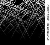 random  intersecting lines.... | Shutterstock .eps vector #358122080