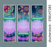 mandala. ethnic decorative...   Shutterstock .eps vector #358147283