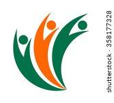 b logo   Shutterstock .eps vector #358177328