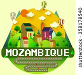 mozambique   city vector... | Shutterstock .eps vector #358178540