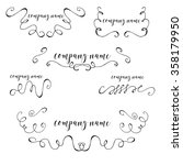 vector collection of hand drawn ... | Shutterstock .eps vector #358179950