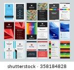 set of creative vertical...   Shutterstock .eps vector #358184828