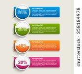 modern infographics options... | Shutterstock .eps vector #358184978