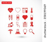 medical icons | Shutterstock .eps vector #358199369