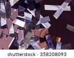 cut into strips foil   Shutterstock . vector #358208093