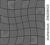 abstract monochrome pattern... | Shutterstock .eps vector #358208423