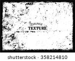 vector grunge background.grunge ... | Shutterstock .eps vector #358214810