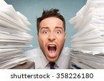 emotional stress. | Shutterstock . vector #358226180