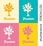 creative tree vector logo...   Shutterstock .eps vector #358241120