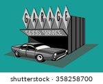 garage | Shutterstock .eps vector #358258700