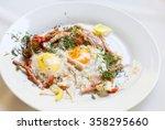 fried eggs | Shutterstock . vector #358295660