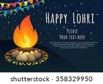 Happy Lohri Celebration. Happy...