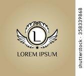 logo letter l vector template ...   Shutterstock .eps vector #358339868