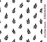 hand drawn seamless pattern... | Shutterstock .eps vector #358346900