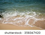 Wave Of  Sea On The Beach