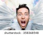 emotional stress. | Shutterstock . vector #358368548