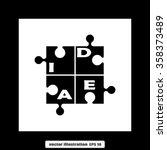 puzzle   Shutterstock .eps vector #358373489