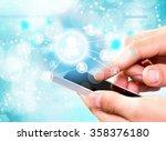 mobile phone. | Shutterstock . vector #358376180