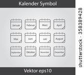 calendar icon  vector eps10...   Shutterstock .eps vector #358389428
