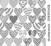 Hand Drawn Ornamental Heart...