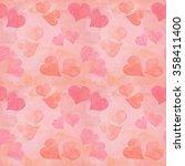 seamless valentine's day... | Shutterstock . vector #358411400