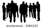businessmen | Shutterstock . vector #3584235