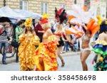 blurred background of samba...   Shutterstock . vector #358458698