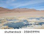 the altiplano   chile   Shutterstock . vector #358459994