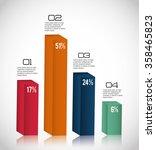 business infographic design | Shutterstock .eps vector #358465823