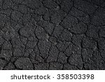 cracked asphalt road surface... | Shutterstock . vector #358503398