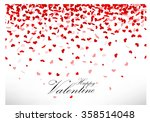 valentines day background | Shutterstock . vector #358514048