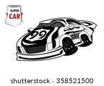 super car | Shutterstock .eps vector #358521500
