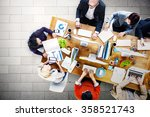 meeting seminar conference... | Shutterstock . vector #358521743