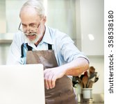 cooking preparation chef... | Shutterstock . vector #358538180