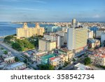 Panoramic View Of  Havana With...