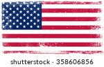 vector grunge usa flag.american ... | Shutterstock .eps vector #358606856