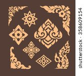 pattern and graphic for... | Shutterstock .eps vector #358609154