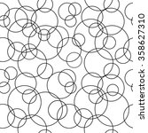 Seamless Circles Pattern. Wate...