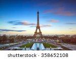 beautiful long exposure of the... | Shutterstock . vector #358652108
